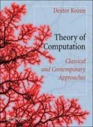 Theory of Computation: Dexter C. Kozen