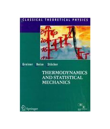 9788181287458: Thermodynamics and Statistical Mechanics