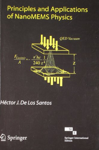 Principles and Applications of NanoMEMS Physics: Hector J. De Los Santos