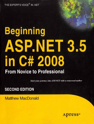 9788181288684: Beginning Asp . Net 3. 5 In C# 2008: From Novice to Professional