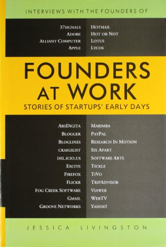 9788181289407: Founders at Work: Stories of Startups' Early Days