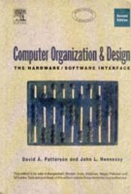 9788181471932: Computer Organization and Design: The Hardware/Software Interface Second Edition