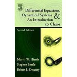 9788181474254: Differential Equations, Dynamical Systems and Introduction to Chaos