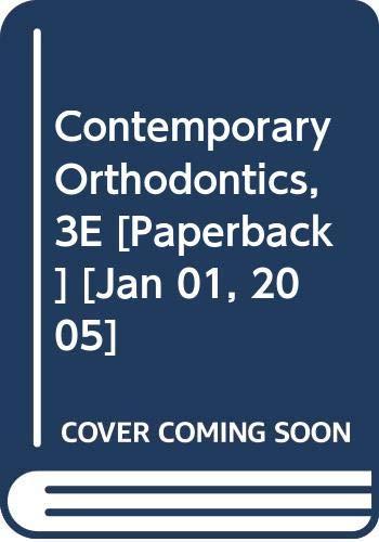 9788181474810: Contemporary Orthodontics, 3E