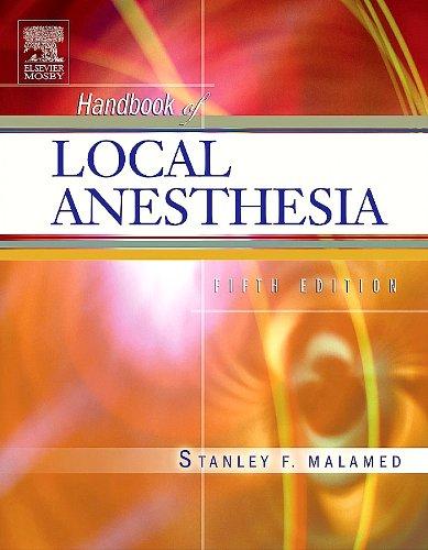 9788181475299: Handbook of Local Anesthesia, 5/e