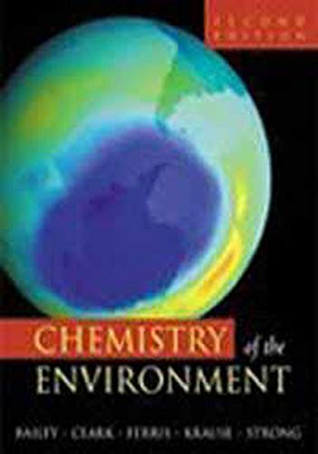 9788181477217: Chemistry of the Environment,