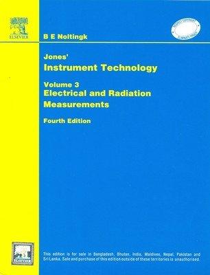 Jones Instrument Technology, Volume 3, 4Th Edition: Nolting B E