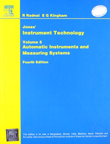 Jones? Instrument Technology: Automatic Instruments and Measuring: Noltingk
