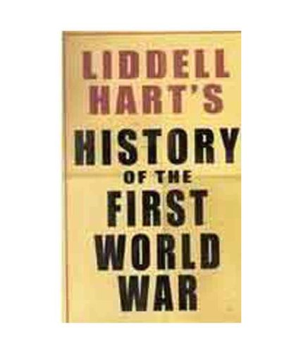 9788181580597: History of the First World War