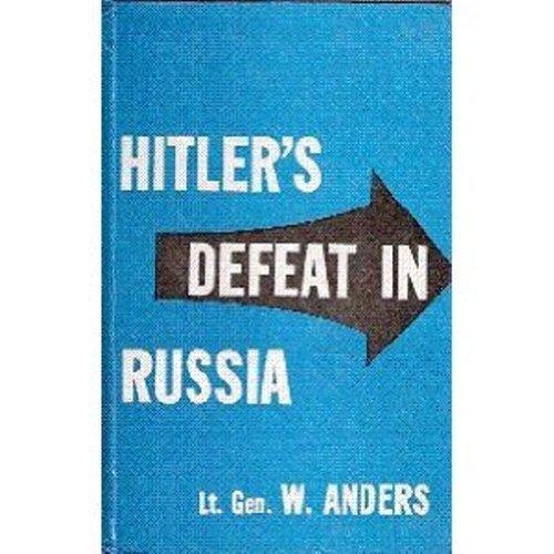 9788181580948: Hitler`s Defeat in Russia