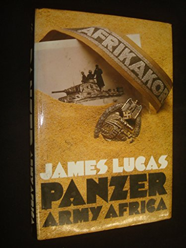 9788181581655: Panzer Army Africa