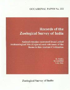 Records of the Zoological Survey of India: U. Saha, M.