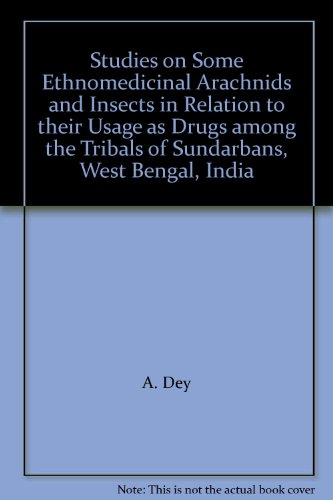 Studies on Some Enthnomedicinal Arachnids and Insects: S.C. Majumder and