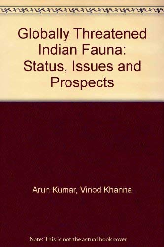 Globally Threatened Indian Fauna Status Issues and: Arun Kumar and