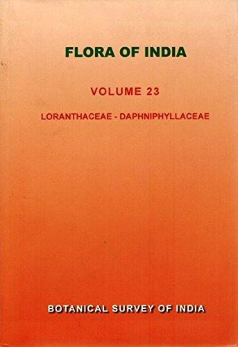 Flora of India : Volume 23 : edited by N.P.Balakrishnan,