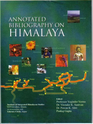 Annotated Bibliography on Himalaya, 4 Vols