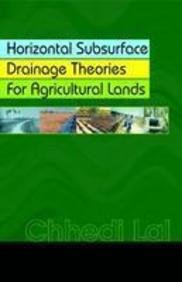 9788181890269: Horizontal Subsurface Drainage Theories for Agricultural