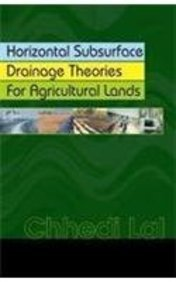 9788181890276: Horizontal Subsurface Drainage Theories for Agricultural Lands