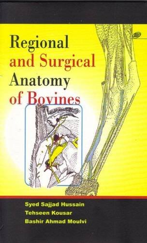 9788181892843: Regional and Surgical Anatomy of Bovines
