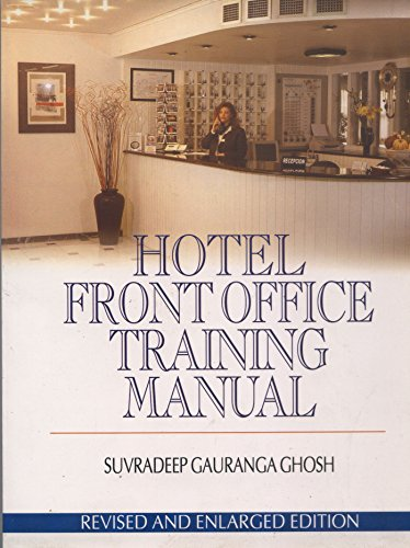 9788182040656: Hotel Front Office Training Manual
