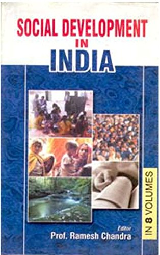 9788182050280: Social Development In India (Poverty Monitoring Of India), Vol. 4