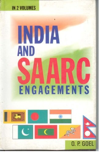 India and SAARC Engagements (Hardback): O.P. Goyal, Carter