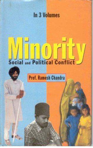 Minority : Social And Political Conflict (3 Vols.): Ramesh Chandra