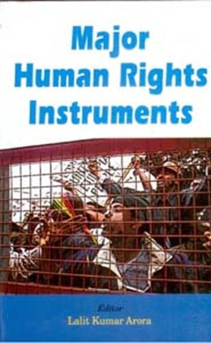 9788182053748: Major Human Rights Instruments