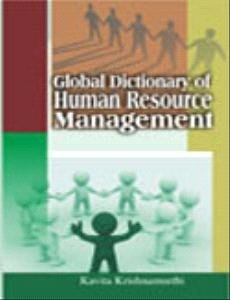 Global Dictionary of Human Resource Management: Kavita Krishnamurthi