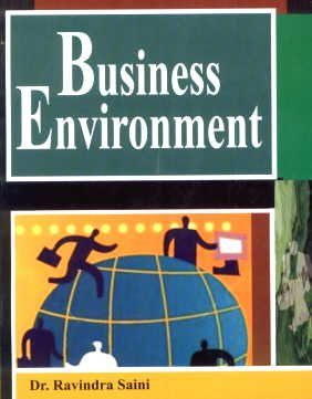 Business Environment: Dr Ravindra Saini