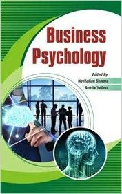 Business Psychology: Nov. Rattan Sharma