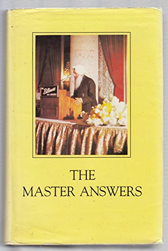 9788182560321: The Master Answers