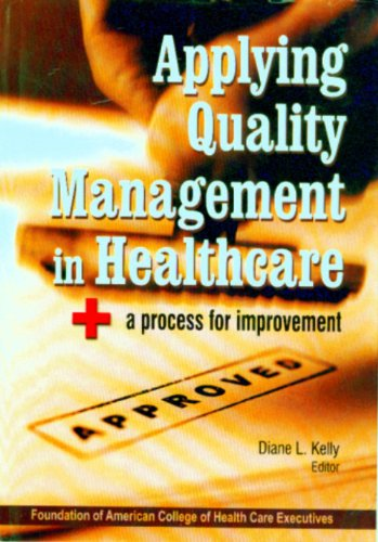 Applying Quality Management in Health Care
