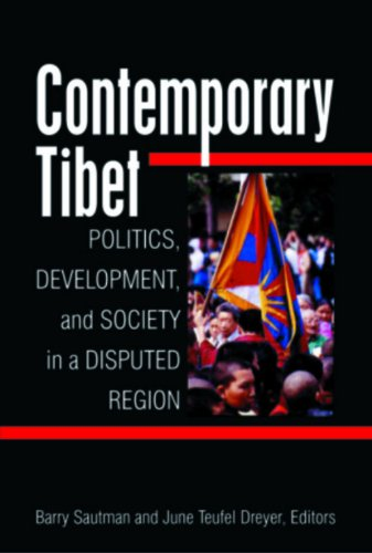 9788182743328: Contemporary Tibet: Politics, Development, and Society in a Disputed Region