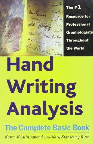9788182743397: Handwriting Analysis