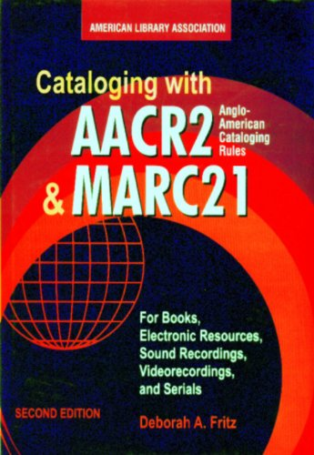 9788182743830: Cataloging with AACR2 and MARC21