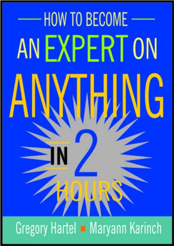 9788182745339: How to Become an Expert on Anything in Two Hours