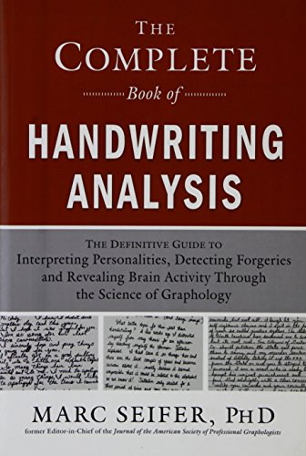 9788182747654: THE COMPLETE BOOK OF HANDWRITING ANALYSIS
