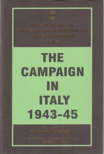 The Campaign in Italy 1943-45 (Hardback): Bisheshwar Prasad