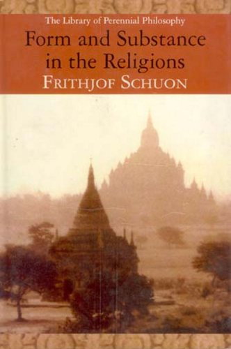 9788182749962: Form and Substance in the Religions