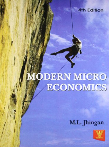 Modern Micro Economics (Fourth Edition): M.L. Jhingan