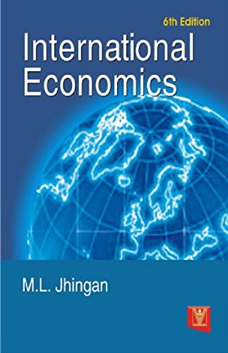 International Economics (Seventh Edition): M.L. Jhingan