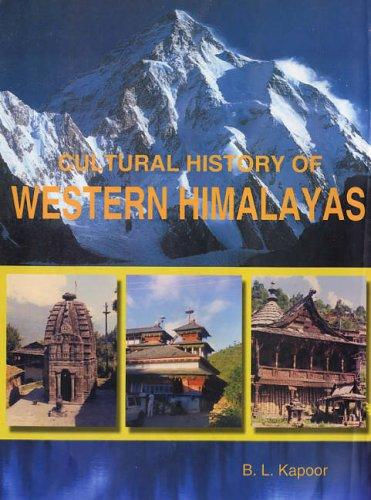 Cultural History of Western Himalayas: B L Kapoor