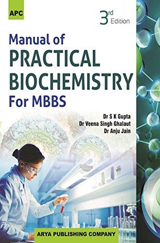 Manual of Practical Biochemistry for MBBS: Dr. S.K. Gupta,