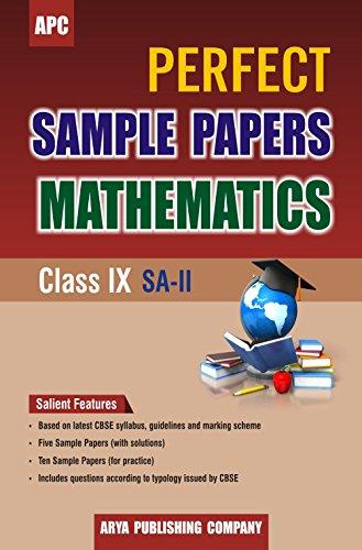 Perfect Sample Papers Mathematics Class IX (SA-II)