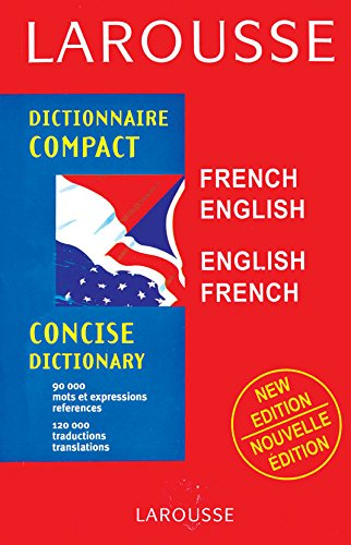 9788183072236: Larousse Compact Concise Dictionary French-English, English-French (Pb 2011)