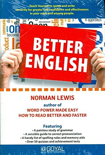 Better English (Revised Edition): Norman Lewis