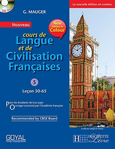 9788183075657: G. Mauger Blue Cours de Langue et de Civilization Francaise - 5 (lecon 50-65)
