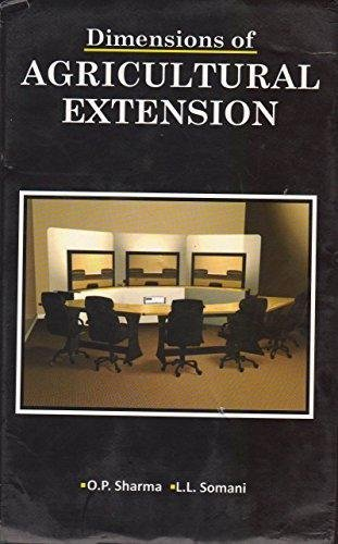 Dimensions of Agricultural Extension: O.P. Sharma and L.L. Somani