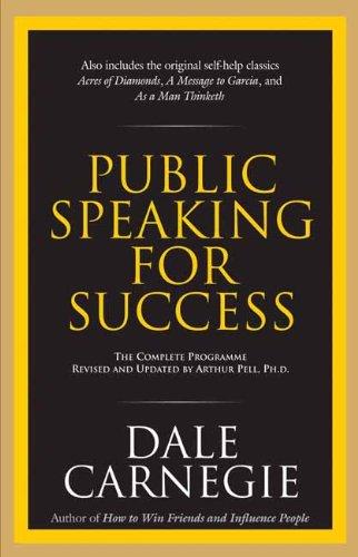 9788183220668: Public Speaking for Success